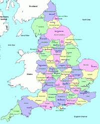 Midsomer England Map by Download Map Uk Showing Counties Major Tourist Attractions Maps
