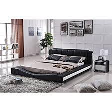 Platform Bed California King Amazon Com Us Pride Furniture B8067 Ck Bonded Leather