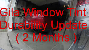 Static Cling Window Tint Gila Window Tint Durability 2 Months Youtube
