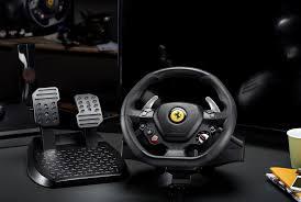 ferrari steering wheel thrustmaster announce entry level racing wheel in honour of