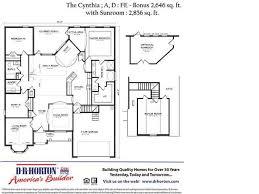 dr horton cynthia floor plan facebook