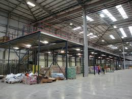 me250 mezzanines floor structures dexion storage and work