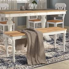 Dining Room Bench Kitchen Dining Benches You Ll Wayfair