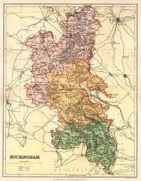 Map Of England And Wales Buckinghamshire Genealogy Heraldry And Family History