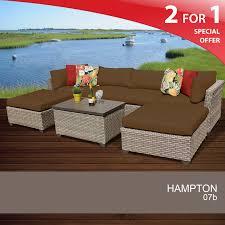 Hampton Bay Belleville 7 Piece Patio Dining Set - hampton bay patio