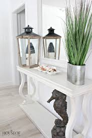 Coastal Cottage Living Rooms by Beach Cottage Renovation Reveal Living Room The House Of Silver