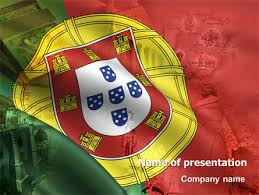 portugal free powerpoint template backgrounds 06099