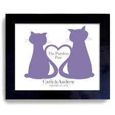 personalized cat gifts unique wedding cats gift personalized for cat 38 00