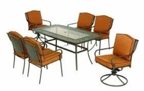 home depot martha stewart living 7 piece patio dining set 399