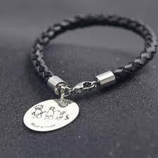 family bracelets aliexpress buy braided leather bracelet personalized