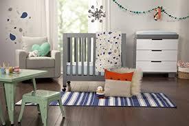 amazon com babyletto origami mini crib grey baby