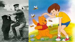 winnie pooh based bear participated wwi