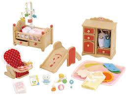 Sylvanian Families Baby Room Set Amazoncouk Toys  Games - Sylvanian families living room set