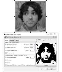 how to trace a photo in inkscape goinkscape