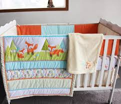 Crib Bedding Sets For Cheap Cheap Embroidery 3d Prairie Fox Baby Bedding Set 100 Cotton Baby