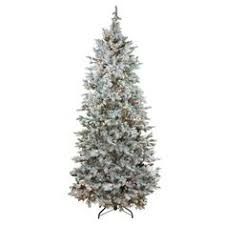 7 5 slim colorado blue spruce tree artificial tree with