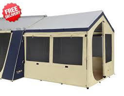Oztrail Awning Oztrail Cabin Tent Sunroom Polyester Available At Camping