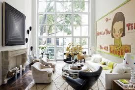 Architectural Digest Home Design Show In New York City Designer Delphine Krakoff Renovates A Manhattan Townhouse