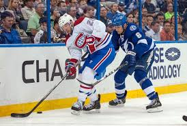 Tampa Bay Lighting Schedule Montreal Canadiens To Start The Stanley Cup Playoffs In Tampa Bay