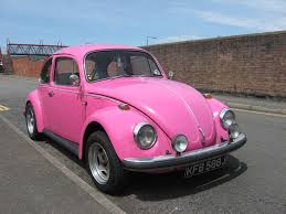 pink punch buggy car volkswagen bug wallpaper wallpapersafari