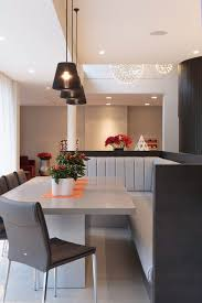 design booth seating design booth dining room contemporary with gray dining table