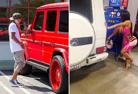 kris jenner mercedes suv jenner s car from tyga used to be blac chyna s