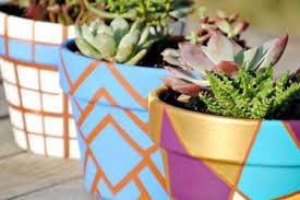 13 painted terracotta flower pots ideas interesting hobby flower