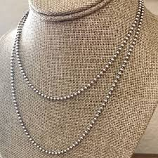 silver bead necklace tiffany images Tiffany co jewelry tiffany and co silver beaded necklace 34 jpg