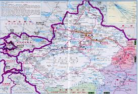 China Map Cities by Xinjiang Tourist Map U0026 Area China Maps Map Manage System Mms