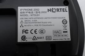 nortel networks ntdu91 ip phone 2002 voip charcoal business
