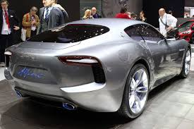 maserati alfieri price an electric maserati will be launched by 2019