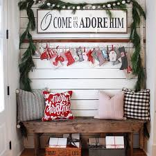 Ideas To Decorate Home To Decorate Your Entrance This Christmas 2017 2018
