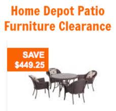 home depot patio furniture clearance furniture design ideas