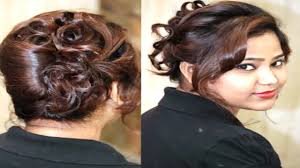 bridal wedding hairstyle 2016 indian bridal hairstyle for long