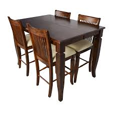 Buy Dining Room Sets by 75 Off Tall Extendable Dining Room Table Set Tables