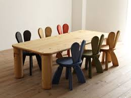 solid wood childrens table and chairs wooden table and chairs for kids homesfeed inside design 4