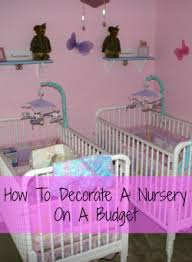 how to decorate a nursery how to decorate a nursery on a budget dish about it