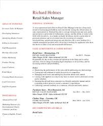 resume for retail sales manager 54 manager resumes in pdf free premium templates
