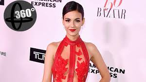 victoria justice spotted at harper u0027s bazaar party at sunset towers