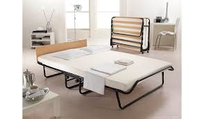 Folding Single Guest Bed Jay Be Folding Bed With Memory Foam Mattress Double Beds
