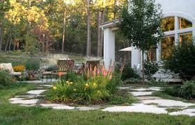 Landscape Ideas For Backyard by Backyard Landscaping Ideas For Chicago The Garden Inspirations