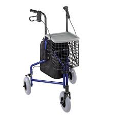 senior walkers with seat duro med folding rollator walker with wheels 3 wheel