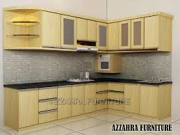 furniture kitchen set kitchen set minimalis murah bergaransi azzahra furniture