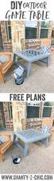 Outdoor Side Table Plans Free by Best 25 Kids Outdoor Furniture Ideas On Pinterest Pallet
