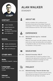 Free Resume Builder App For Android Confortable Resume Builder App For Android Also Free Resume