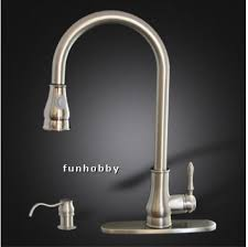 pull out single hole single handle kitchen faucet u2013 with dual