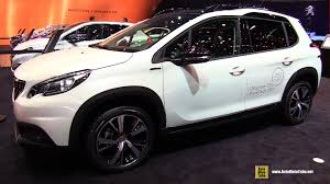 peugeot 2008 black 2017 peugeot 2008 gt line exterior and interior walkaround