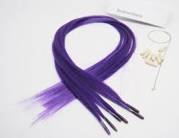 How Long Do Micro Link Hair Extensions Last by Amazon Com Beautiful Color Hair Extensions New Generation Purple