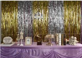 wedding backdrop garland aliexpress buy golden curtain tassel garland wedding