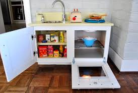 homemade play kitchen ideas how to make a homemade play kitchen from a cabinet plays